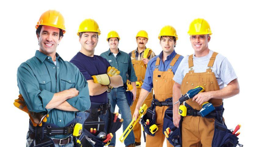 équipe plombier
